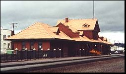 This is our rennovated, century-old train depot.